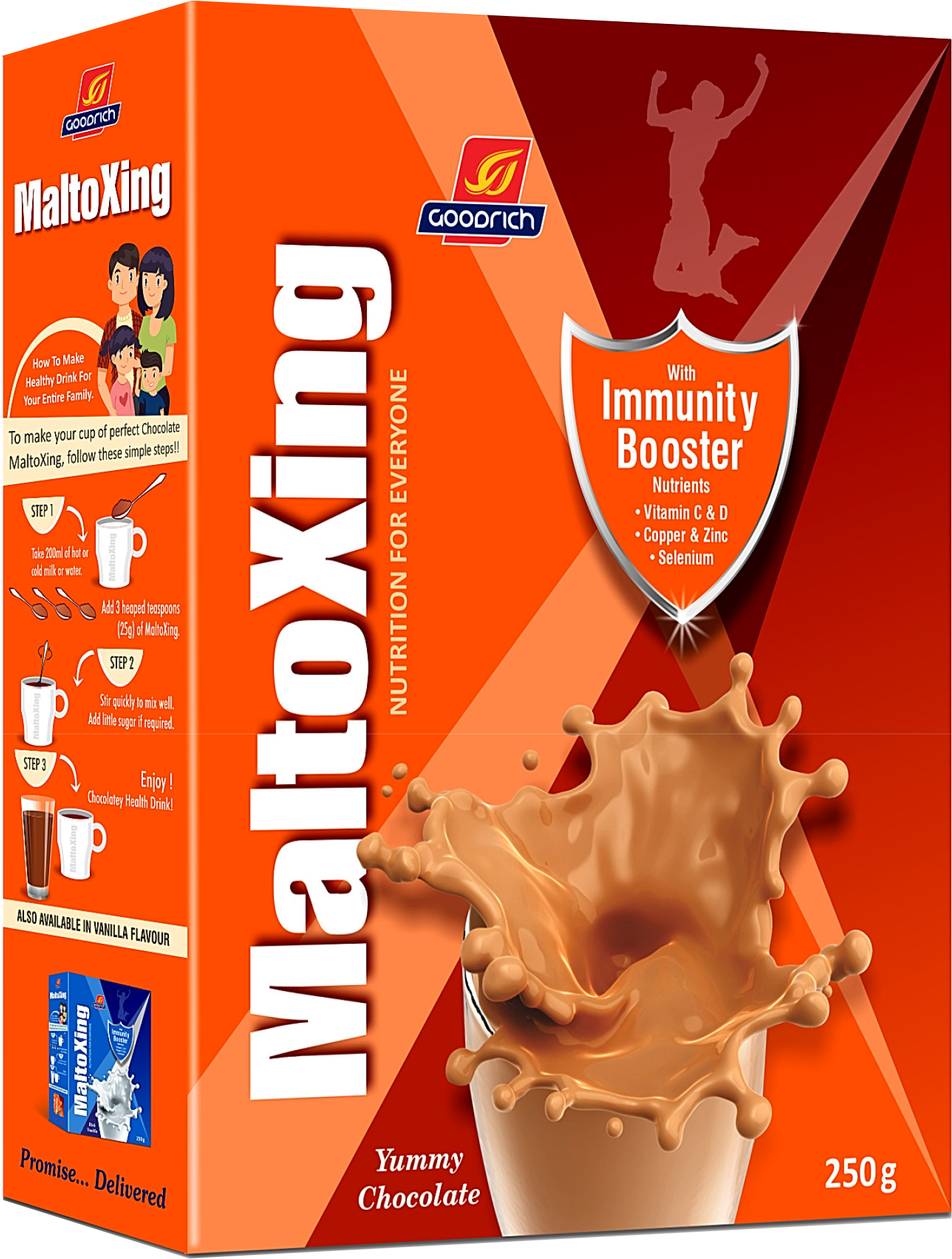 maltoxing chocolate flavor